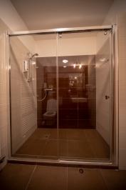Pokoj (prostorný sprchový kout, TV a WiFi)