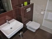 Pokoj (WC, prostorný sprchový kout, WiFi a TV)
